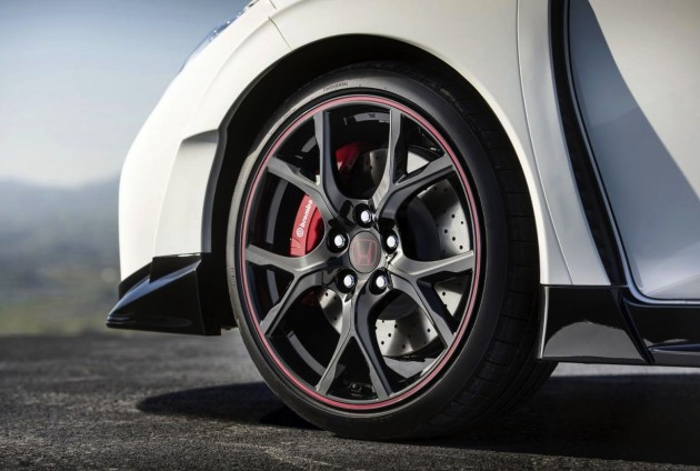 2015 Honda Civic Type R wheels