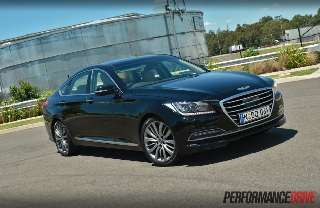 2015 Hyundai Genesis Ultimate Pack