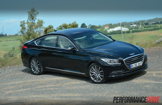 2015 Hyundai Genesis Ultimate Pack-black