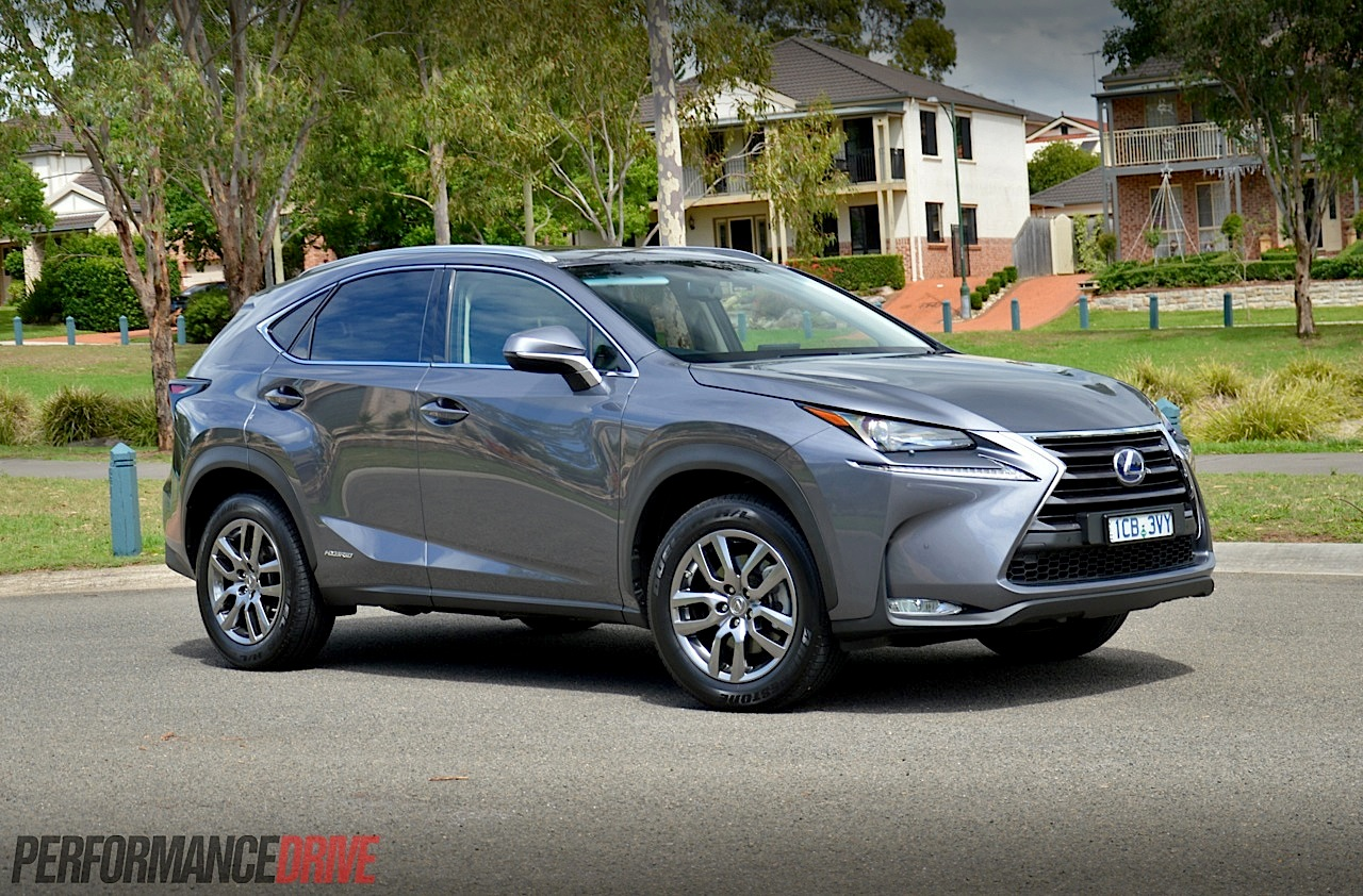 2015 lexus nx 300h luxury review video performancedrive. Black Bedroom Furniture Sets. Home Design Ideas