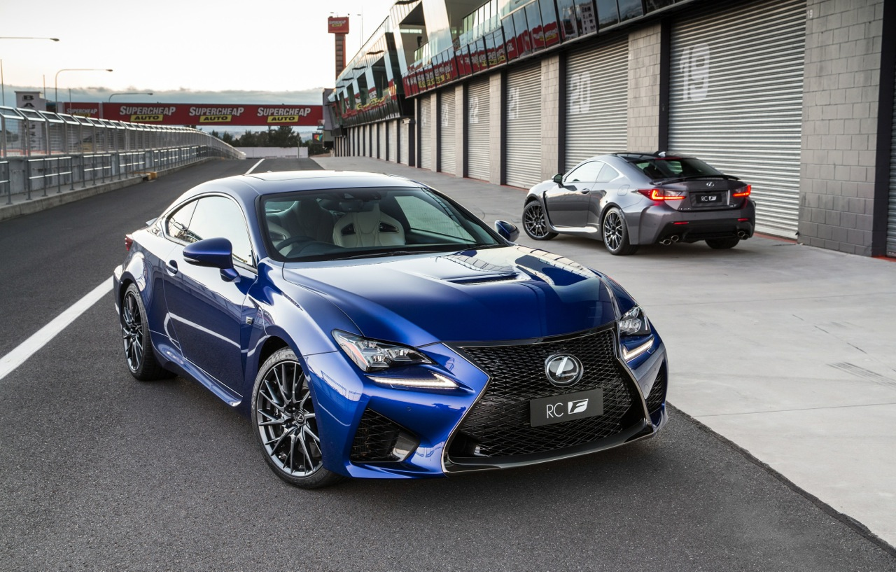 Lexus Rc F Launches In Australia New High Performance V8