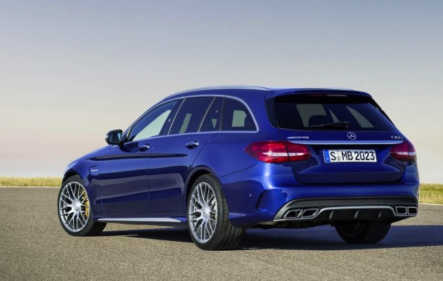 2015 Mercedes-Benz C 63 AMG S estate-rear