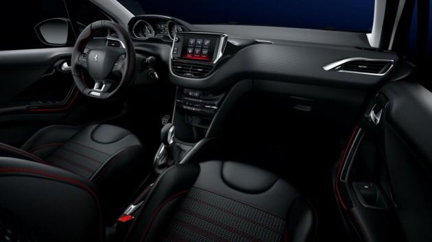 2015 Peugeot 208 GT Line-interior