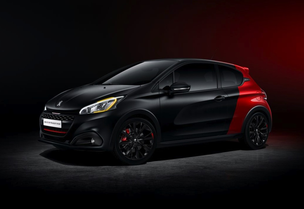 2015 peugeot 208 facelift revealed more tech updated. Black Bedroom Furniture Sets. Home Design Ideas