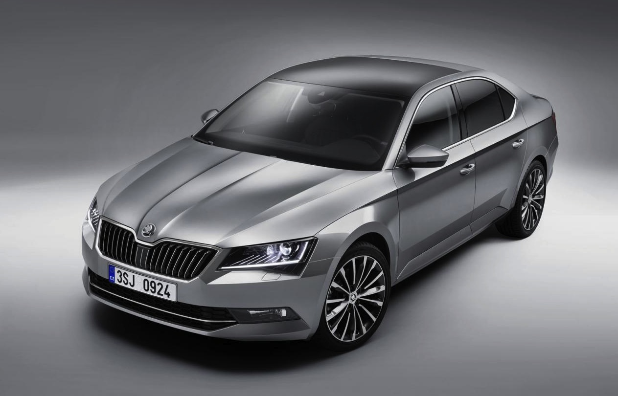2015 skoda superb officially unveiled performancedrive. Black Bedroom Furniture Sets. Home Design Ideas