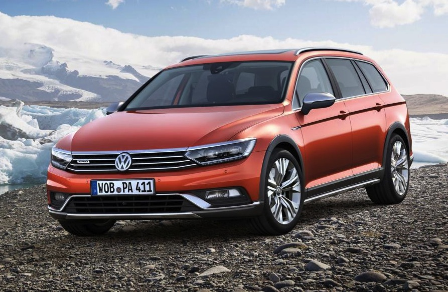 2015 volkswagen passat alltrack shows its face before geneva performancedrive. Black Bedroom Furniture Sets. Home Design Ideas