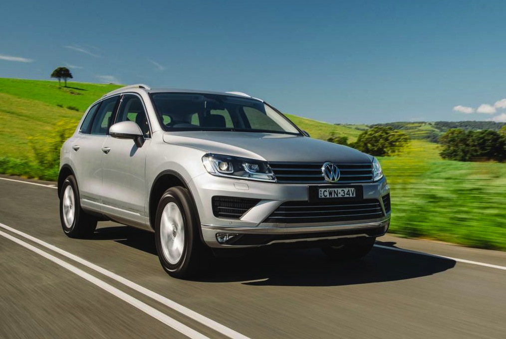 2015 volkswagen touareg on sale in australia from 67 990 performancedrive. Black Bedroom Furniture Sets. Home Design Ideas