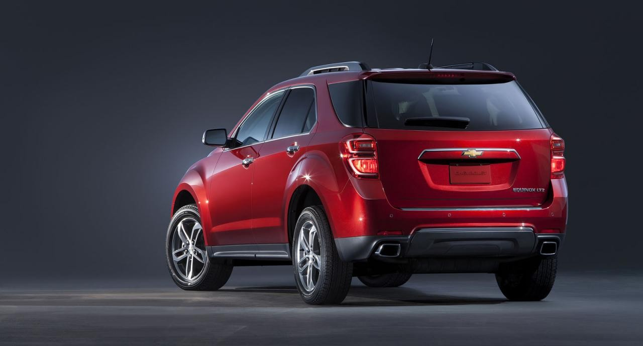 2016 chevrolet equinox revealed holden captiva replacement performancedrive. Black Bedroom Furniture Sets. Home Design Ideas