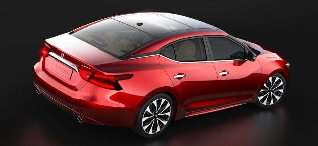 2016 Nissan Maxima-rear