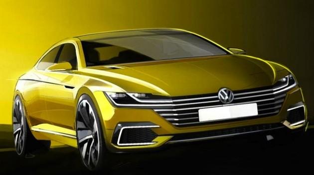 2017 Volkswagen CC concept
