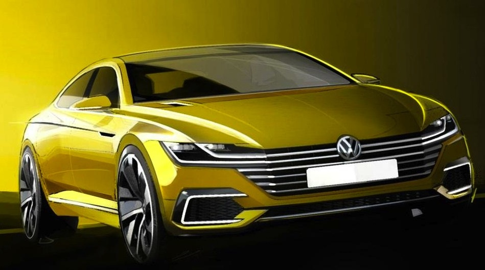2017 volkswagen cc concept confirmed for geneva debut. Black Bedroom Furniture Sets. Home Design Ideas