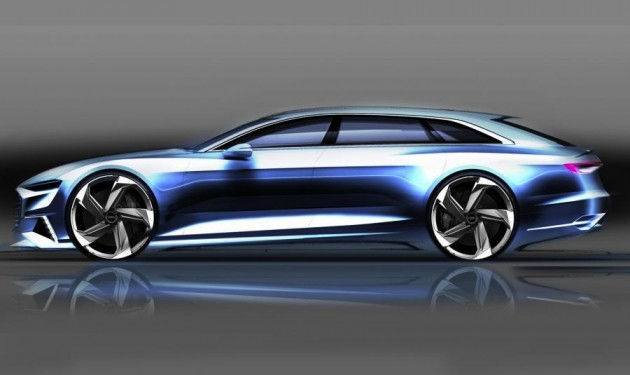 Audi Prologue Avant concept sketch