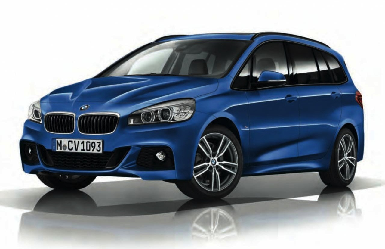bmw 2 series gran tourer m sport pack revealed. Black Bedroom Furniture Sets. Home Design Ideas