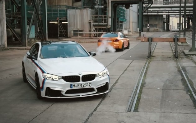 BMW M Performance ad with M4