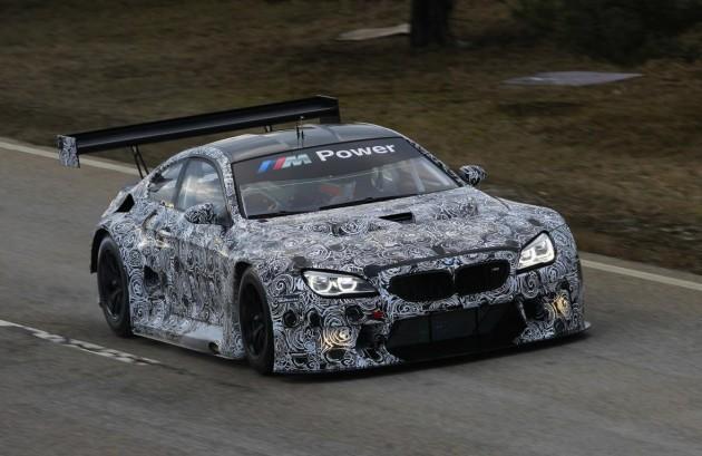 BMW M6 GT3 prototype-1
