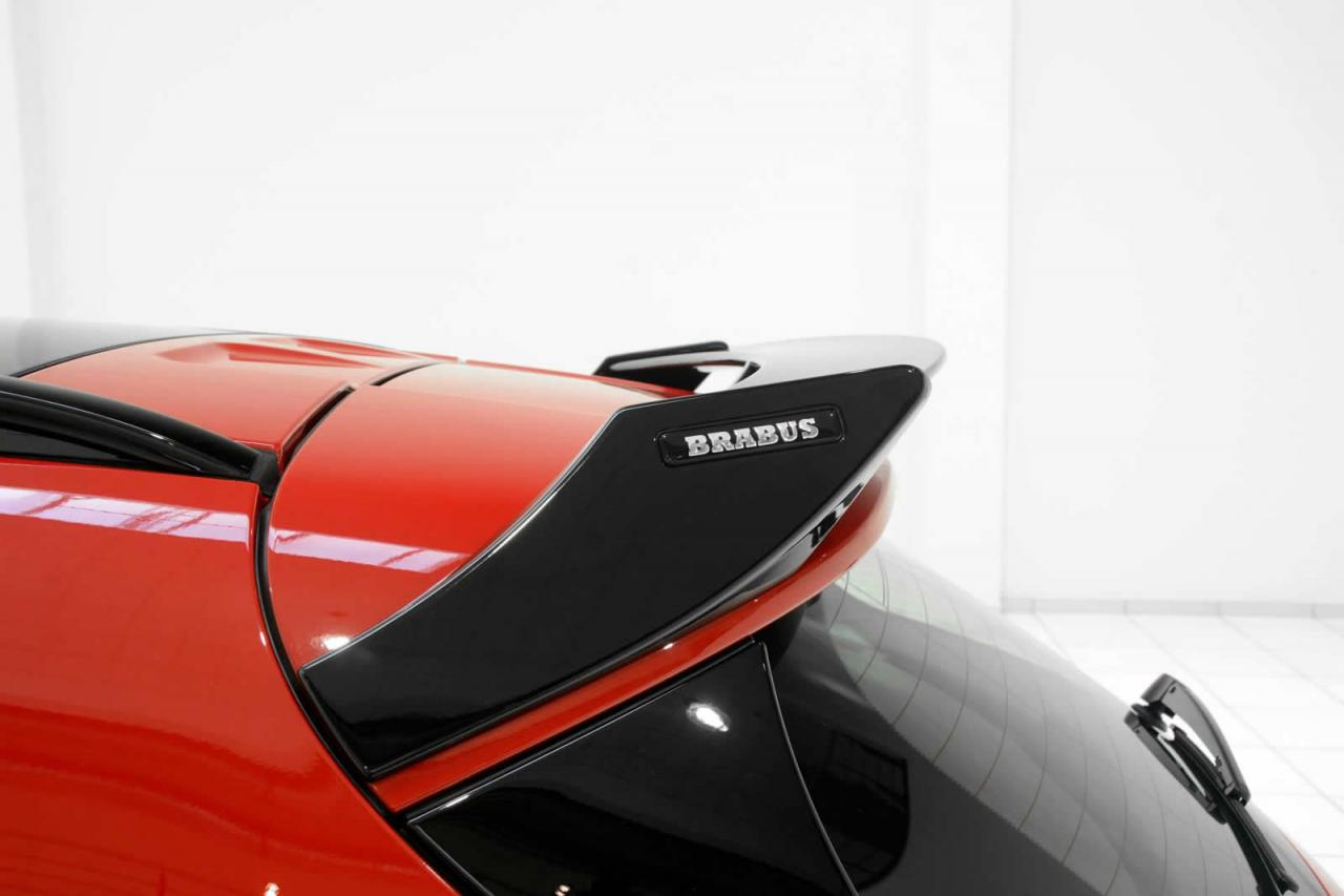 Brabus D3 Mercedes Benz Gla 220 Cdi Rear Spoiler