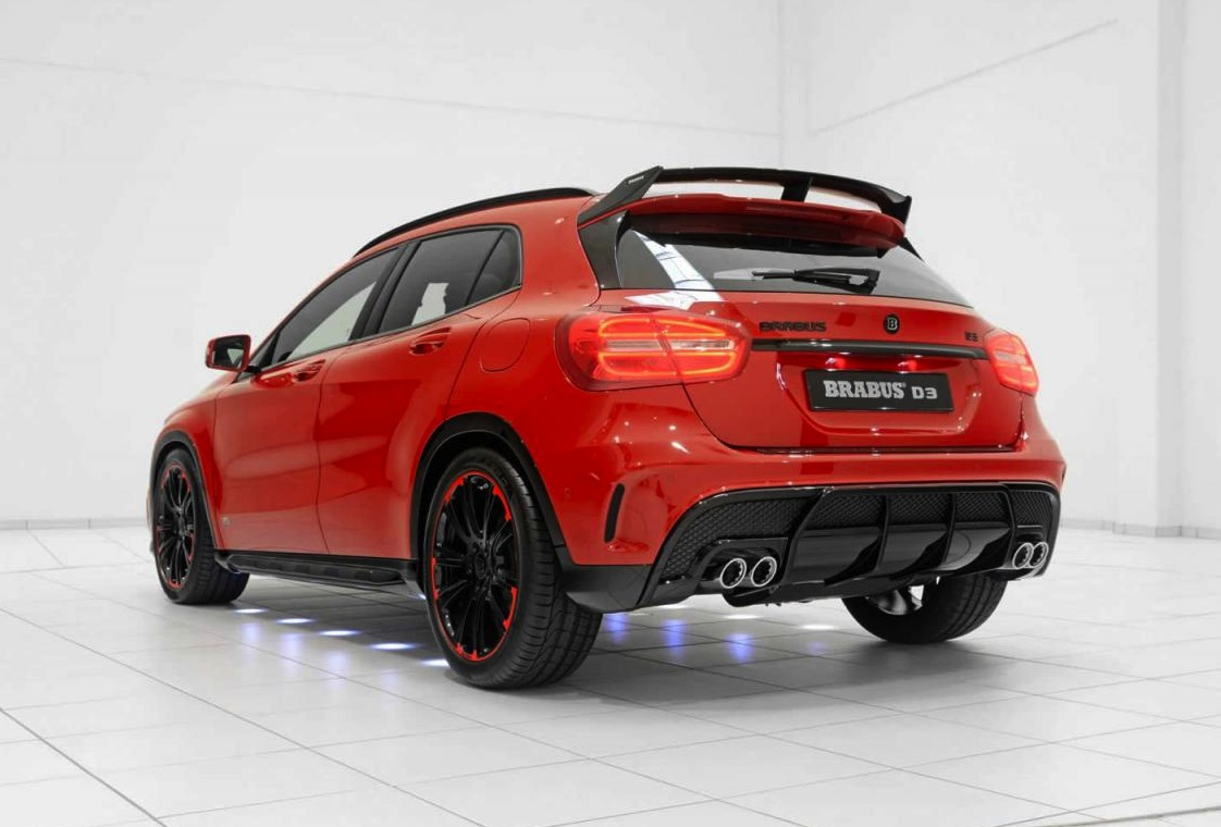 brabus d3 package announced for mercedes gla 220 cdi performancedrive. Black Bedroom Furniture Sets. Home Design Ideas