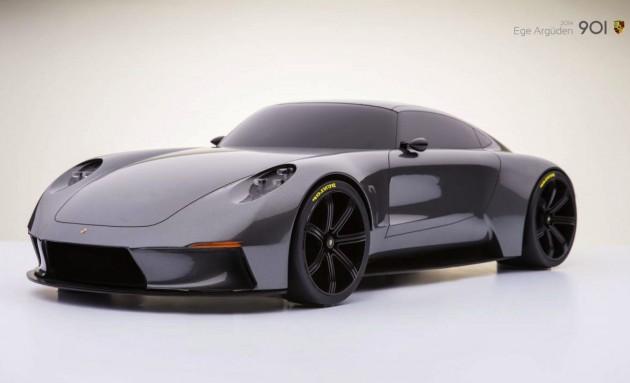 Ege Arguden Porsche 901 concept