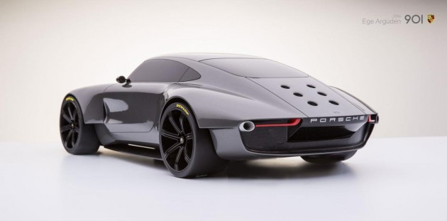 Ege Arguden Porsche 901 concept-rear