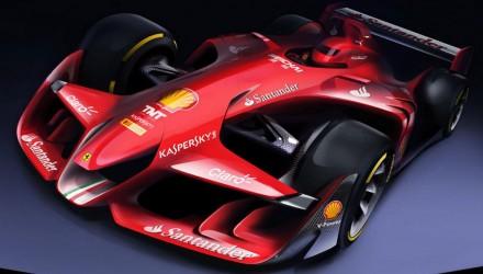 Ferrari F1 car of the future