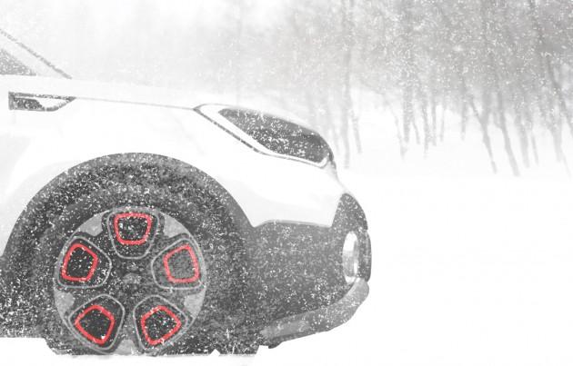 Kia e-AWD SUV concept-2015 Chicago show