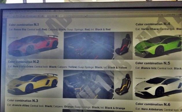 Lamborghini Aventador SV brochure-1