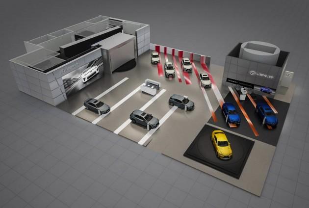 Lexus 2015 Geneva Motor Show plan