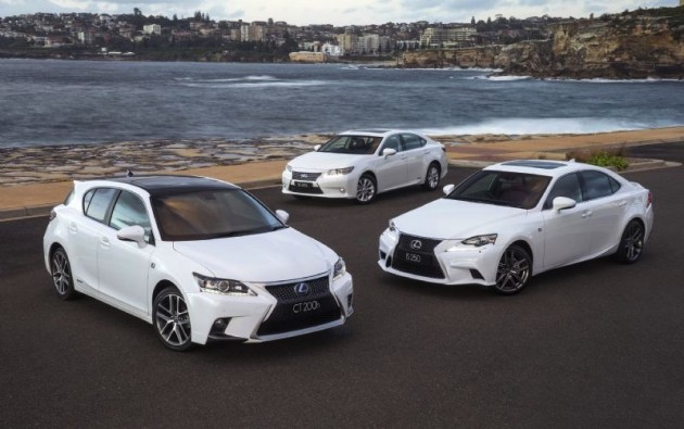 Lexus CT IS and ES