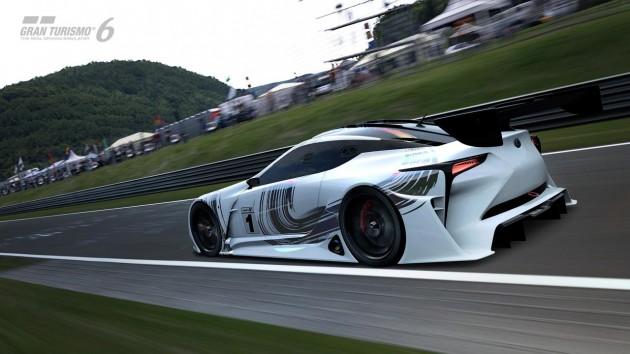Lexus LF-LC GT Vision Gran Turismo-rear