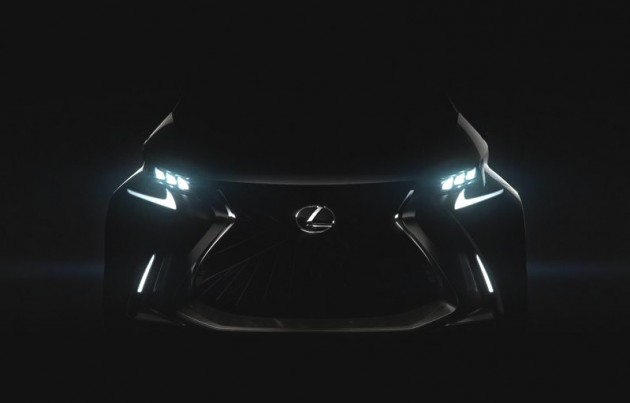 Lexus LF-SA concept preview