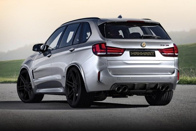 Manhart Racing MHX5 750 BMW X5 M-rear