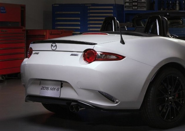 Mazda MX-5 accessories design concept preview