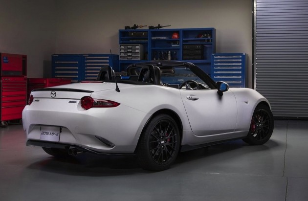Mazda MX-5 accessories design concept-rear