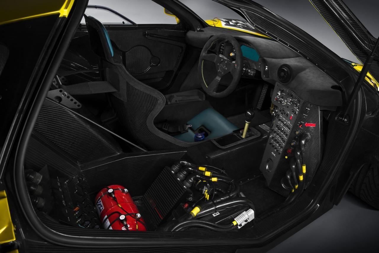 McLaren P1 GTR production version revealed ahead Geneva debut
