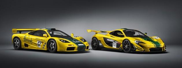 McLaren P1 GTR with F1 GTR