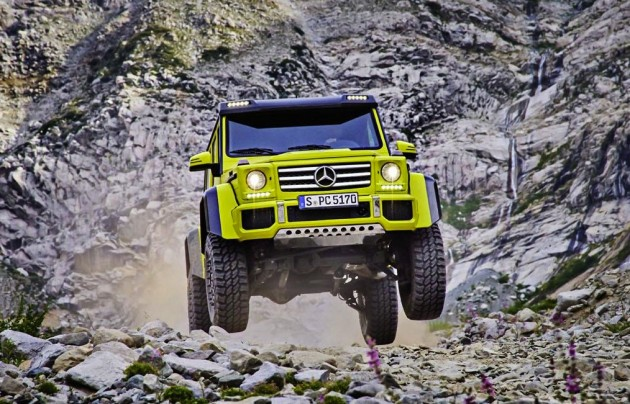 Mercedes-Benz G 500 4x4²-air