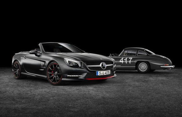 Mercedes-Benz SL 417 Mille Miglia edition-original