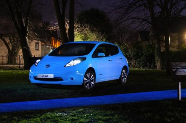 Nissan LEAF glow