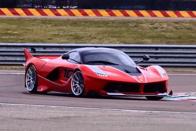 Sebastian Vettel- LaFerrari FXX K