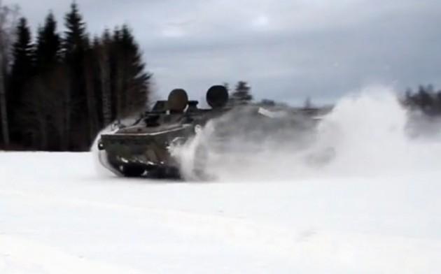 Swede buys tank