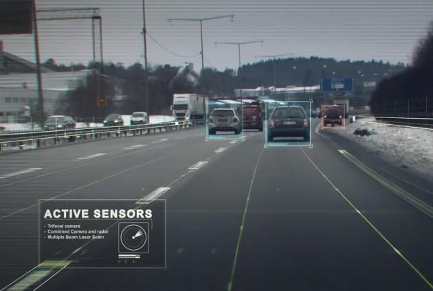 Volvo Drive Me autonomous driving tech