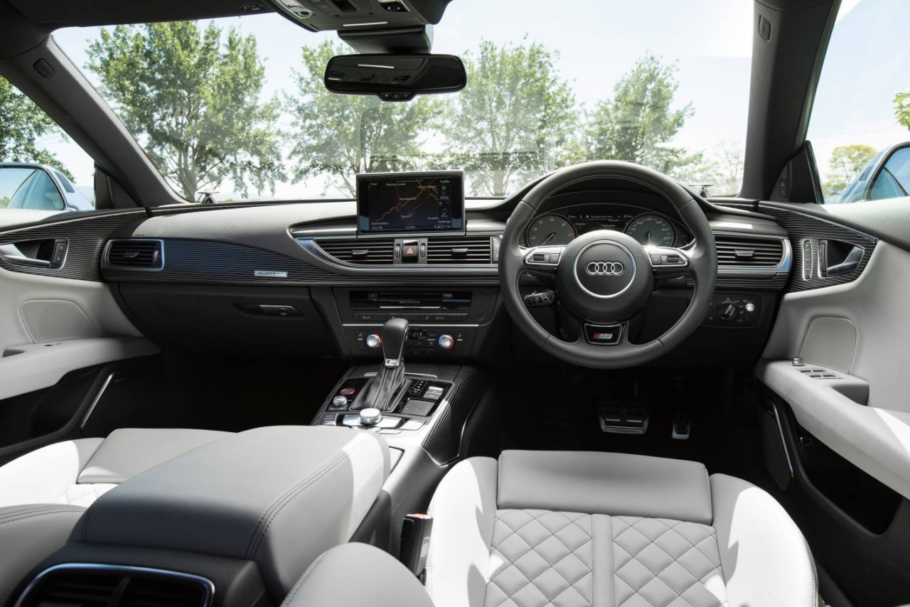 audi s7 2015 interior images galleries with a bite. Black Bedroom Furniture Sets. Home Design Ideas