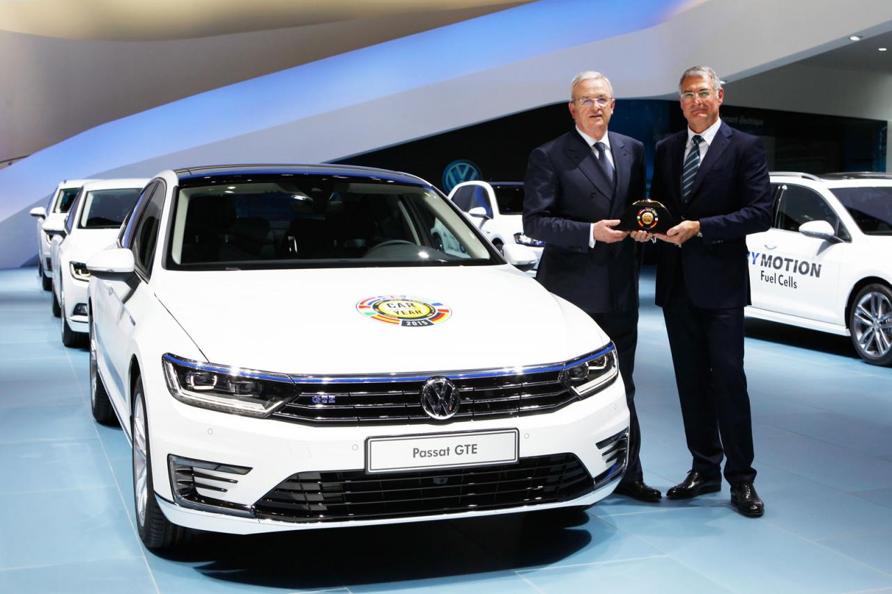 Volkswagen Passat Awarded 2015 European Car Of The Year