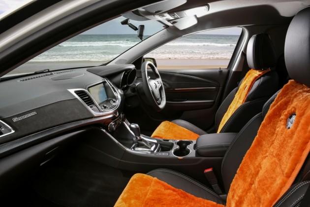 2015 Holden Sandman ute-interior
