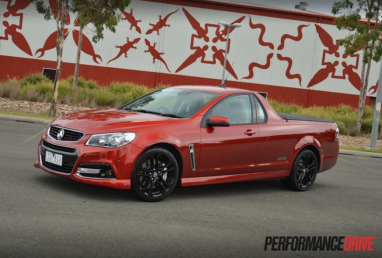2015 Holden Ute Vf Ss V Redline Review Video