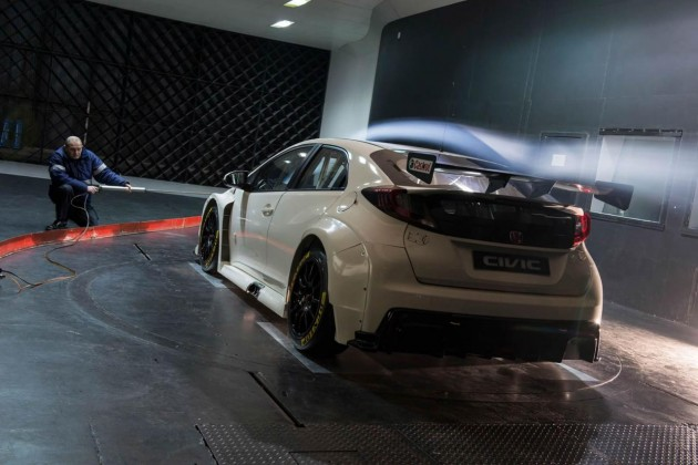 2015 Honda Civic Type R BTCC-wind tunnel
