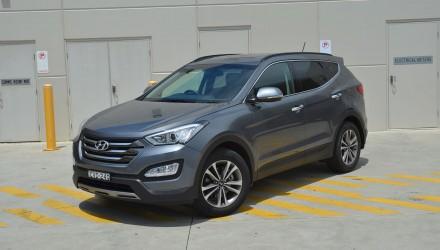 2015 Hyundai Santa Fe Elite Australia