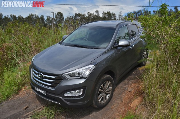 2015 Hyundai Santa Fe Elite off road