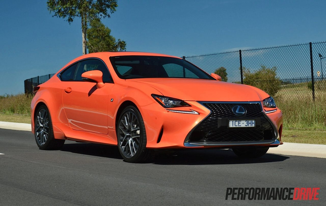 Awesome 2015 Lexus RC 350 F Sport Review Video  PerformanceDrive