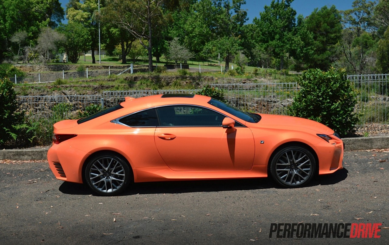Simple 2015 Lexus RC 350 F Sport Review Video  PerformanceDrive